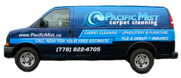 Pacific Mist Carpet Cleaning truck